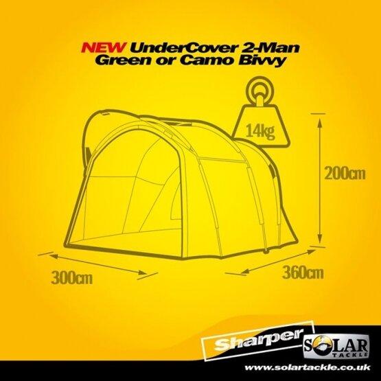 Solar Undercover Camo 2 Man Bivy