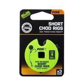 Fox Chod Rig stiff rig beaked Short