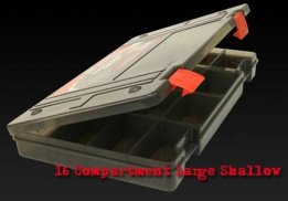 Rage Box large shallow 16 compart.