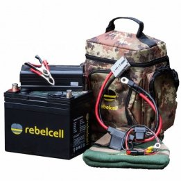 Rebel Cell 12V50 li-ion accu Comfort pakket